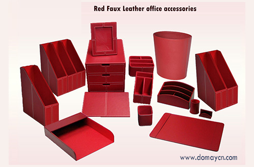 Red Office Accessories